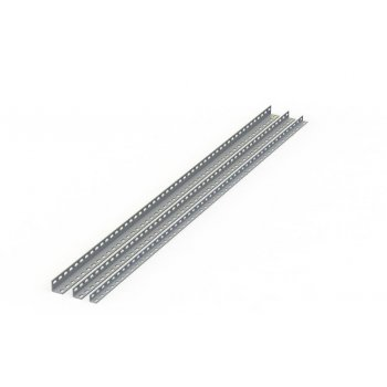 ZIMPEX 40X40X2000  4 MM  L PERFORE KANAL